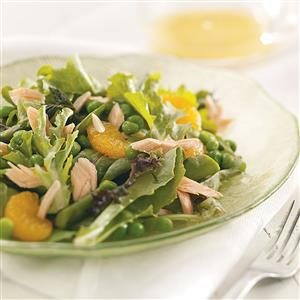 Springtime Salmon Salad Recipe