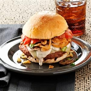 Steak House Burgers Recipe