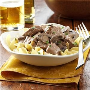 Steak Stroganoff Recipe