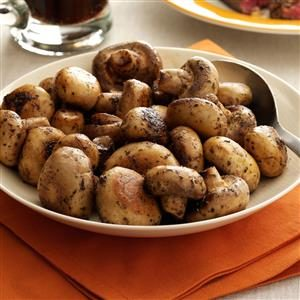 Steakhouse Mushrooms Recipe