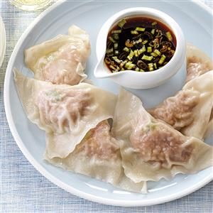 Steamed Turkey Dumplings