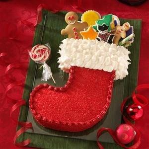Stocking Cake Recipe