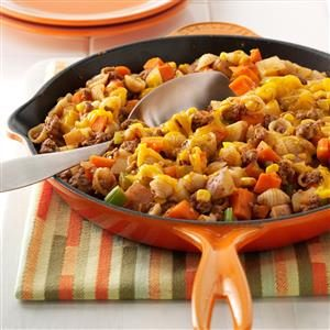 Stovetop Hamburger Casserole Recipe