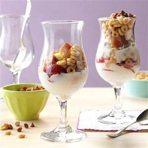 Strawberry Apple Parfait Recipe