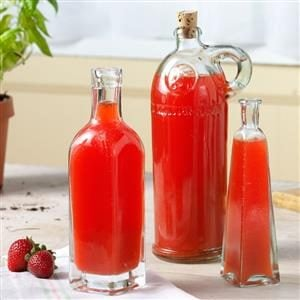 Strawberry-Basil Vinegar Recipe