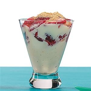 Strawberry Cheesecake Sundaes Recipe