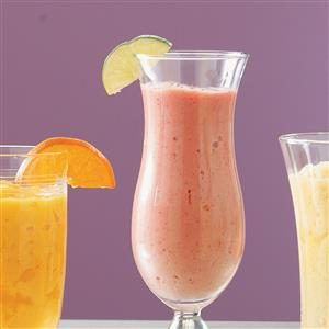 Strawberry Lime Smoothies