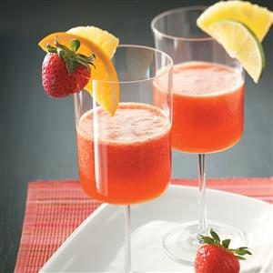 Strawberry Party Punch Recipe