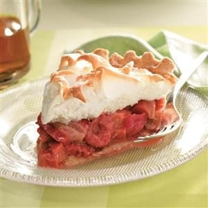 Strawberry-Rhubarb Meringue Pie Recipe