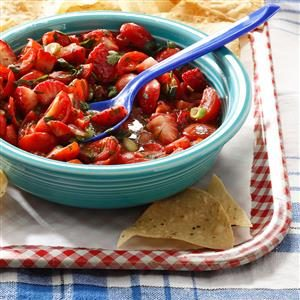 Strawberry Tomato Salsa Recipe