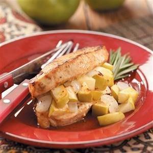 Stuffed Apple Pork Chops Recipe