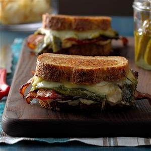 Stuffed Jalapeno Grilled Cheese Recipe
