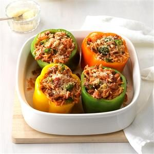 Stuffed Peppers for Four Recipe