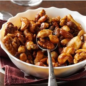 Sugar-and-Spice Candied Nuts Recipe