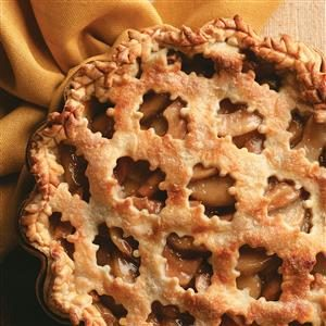 Sugar and Spice Pear Pie Recipe