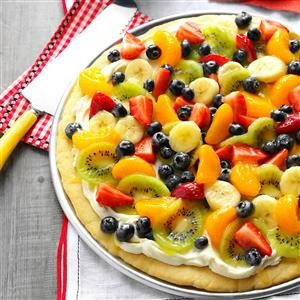 Summer Dessert Pizza Recipe