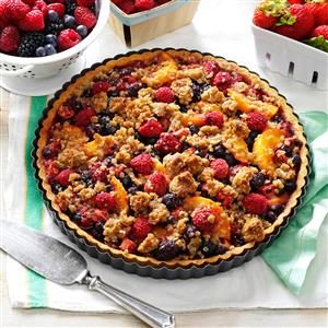 Summer Harvest Tart Recipe