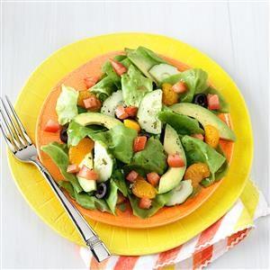 Summer Salads with Mandarin Oranges Recipe