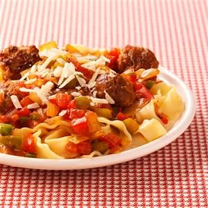 Summertime Spaghetti Sauce Recipe