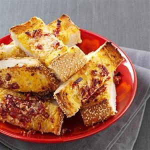 Sun-Dried Tomato Garlic Bread Recipe
