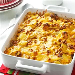 Sun-Dried Tomato Scalloped Potatoes