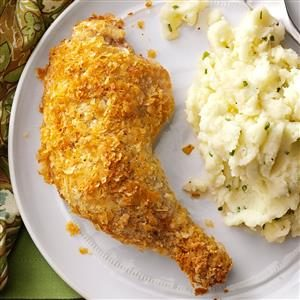 Super Crispy Baked Chicken Recipe