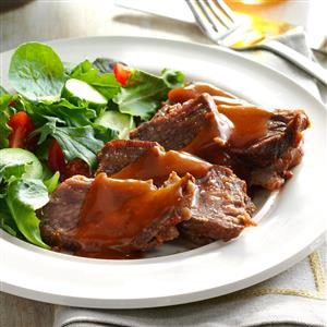 Sweet 'n' Tangy Pot Roast
