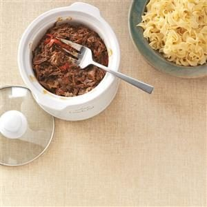Sweet and Savory Pulled Beef Dinner