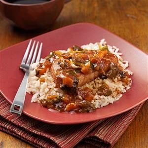 Sweet and Tangy Asian Pork Chops Recipe