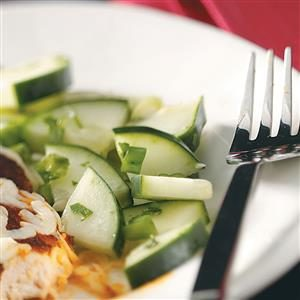 Sweet Cucumber Salad Recipe