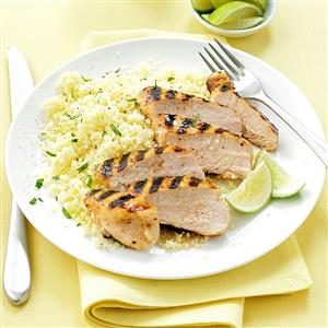 Sweet Honey-Lime Chicken Recipe