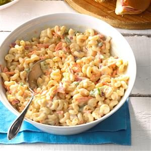 Sweet Macaroni Salad Recipe