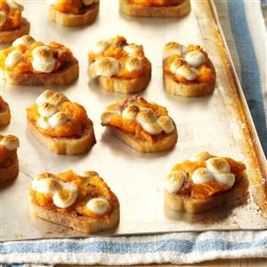 Sweet Potato Crostini Recipe