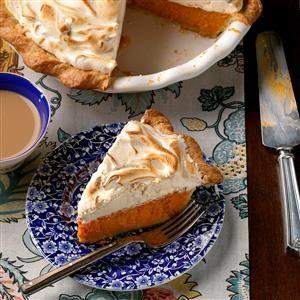 Sweet Potato-Gingerbread Meringue Pie Recipe