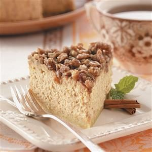 Sweet Potato Pecan Cheesecake Recipe