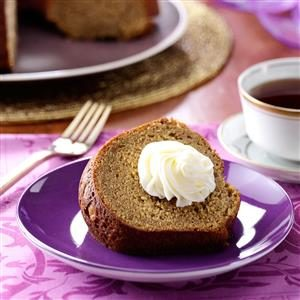 Sweet Potato Pound Cake with Marshmallow Frosting Recipe