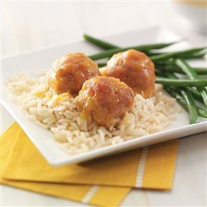 Sweet-Sour Ham Balls Recipe