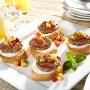 Sweet & Savory Bruschetta Recipe