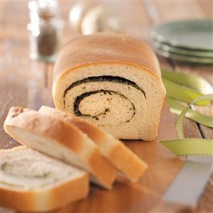 Swirled Herb Bread Recipe