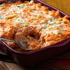 Swirled Potato Bake