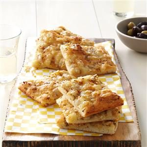 Swiss & Caraway Flatbreads Recipe