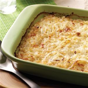 Swiss Sweet Onion Casserole Recipe