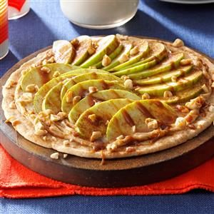 Taffy Apple Pizza Recipe