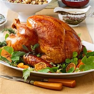 Tangerine-Glazed Turkey Recipe