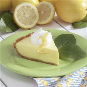 Tangy Lemonade Pie Recipe
