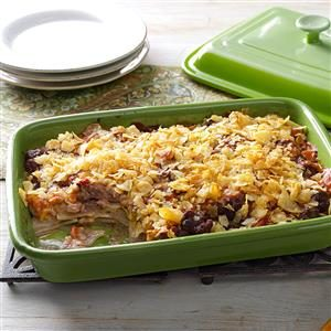 Tasty Hamburger Casserole Recipe