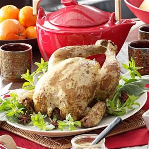 Tea-Smoked Peking Chicken Recipe