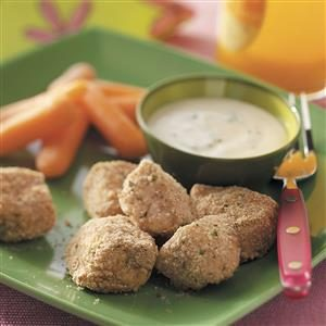 Tender Chicken Nuggets for 4 Recipe