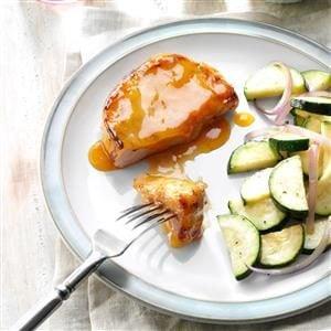 Tender Glazed Pork Chops Recipe