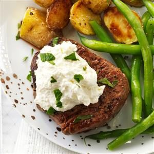 Tenderloin with Horseradish Cream Cheese Recipe